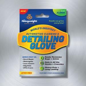 Heavyweight Scrub Glove Packaging Label