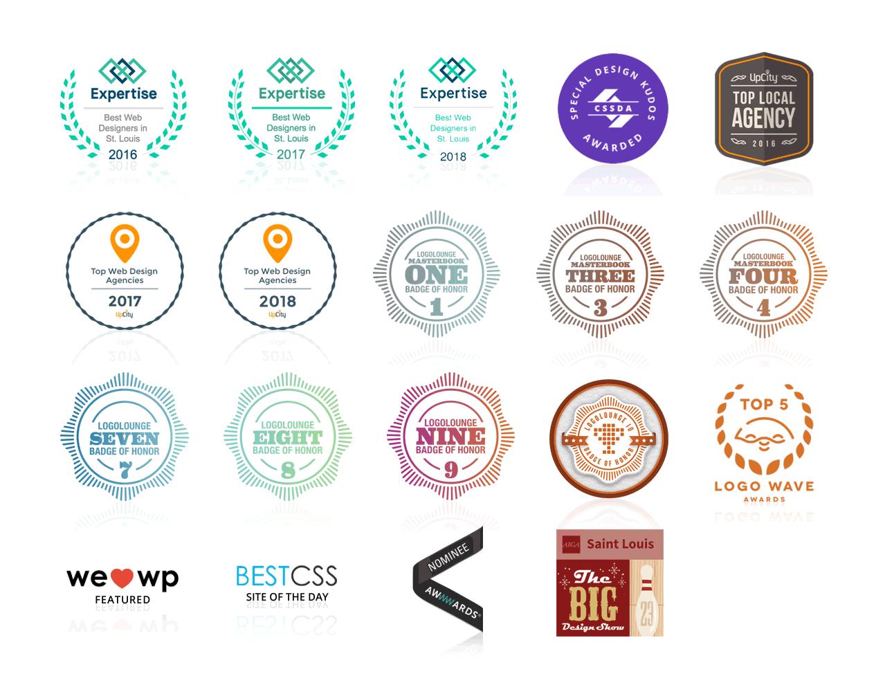 Visual Lure design honors & awards
