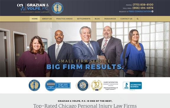 Grazian & Volpe website