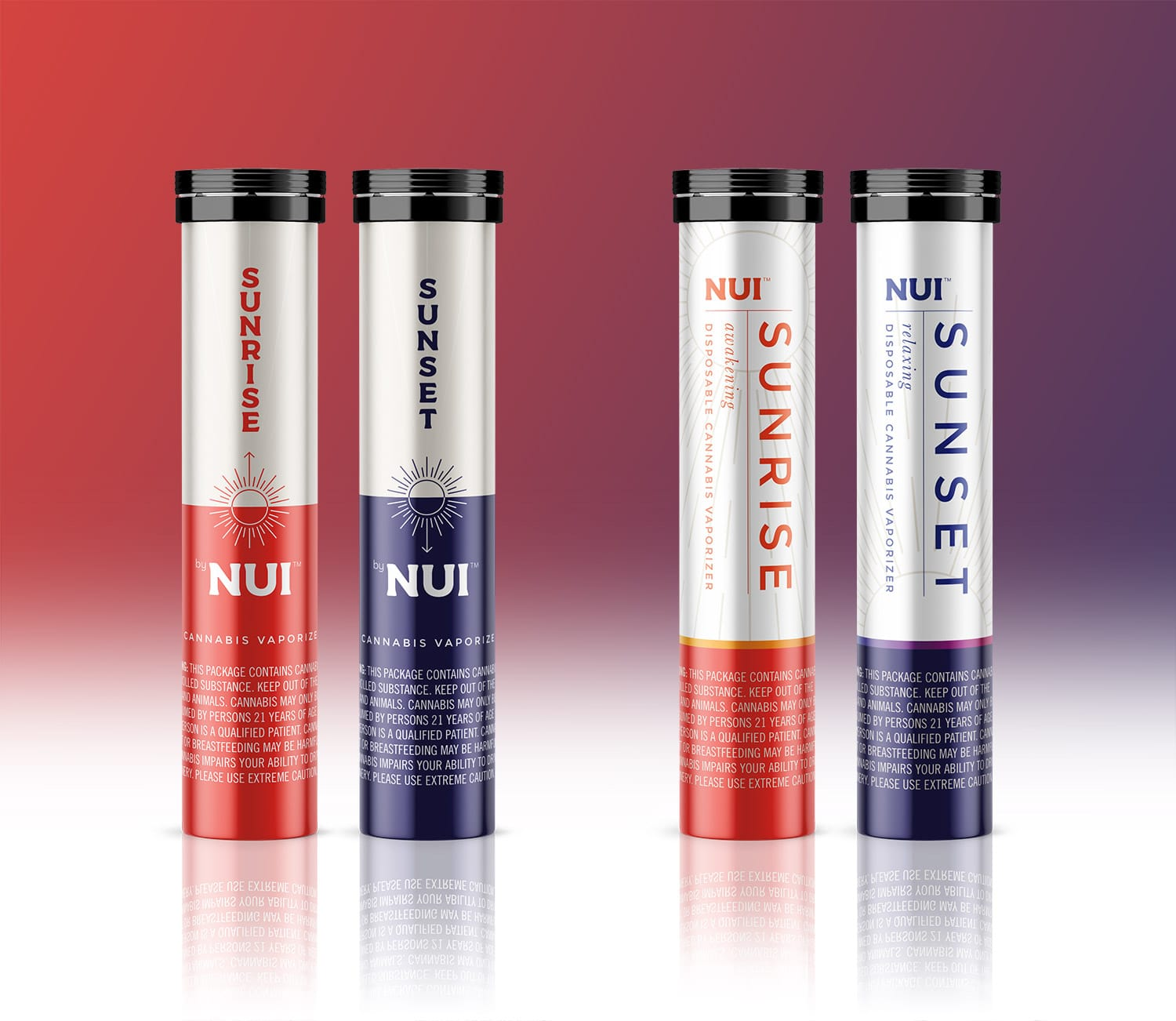 Nui simple & clean package design options