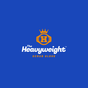 Heavyweight Scrub Glove Logo option