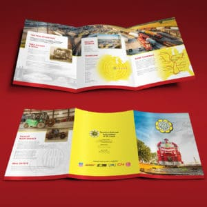 Terminal Railroad Assoc. of St. Louis Large Trifold Brochure