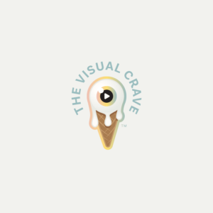 The Visual Crave logo design option
