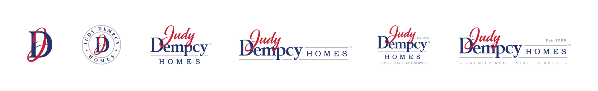 Judy Dempcy logo deliverables
