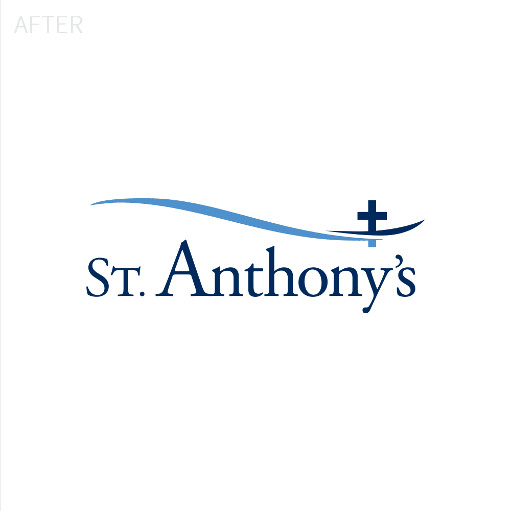 St. Anthony's Logo After
