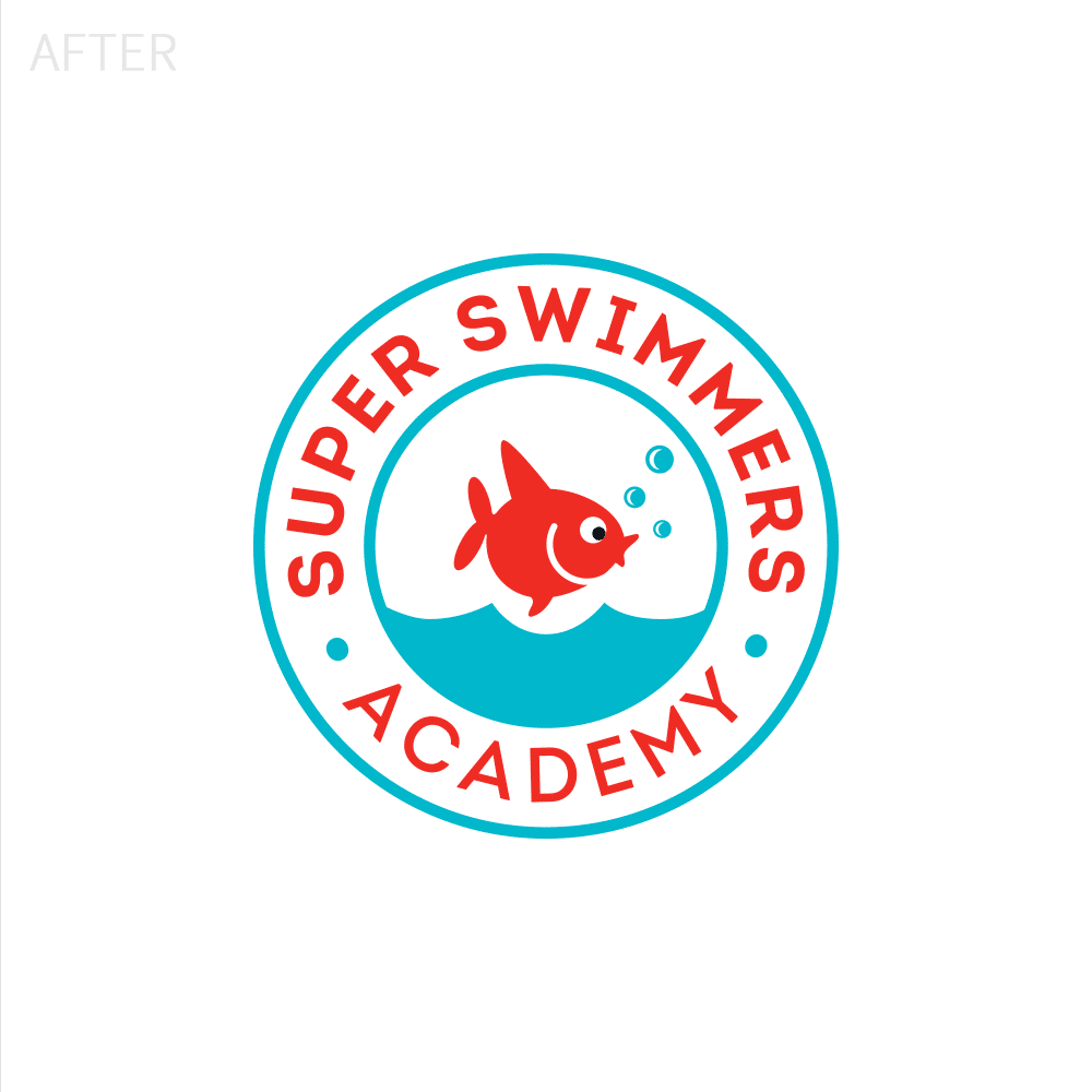 Super Swimmers Logo After