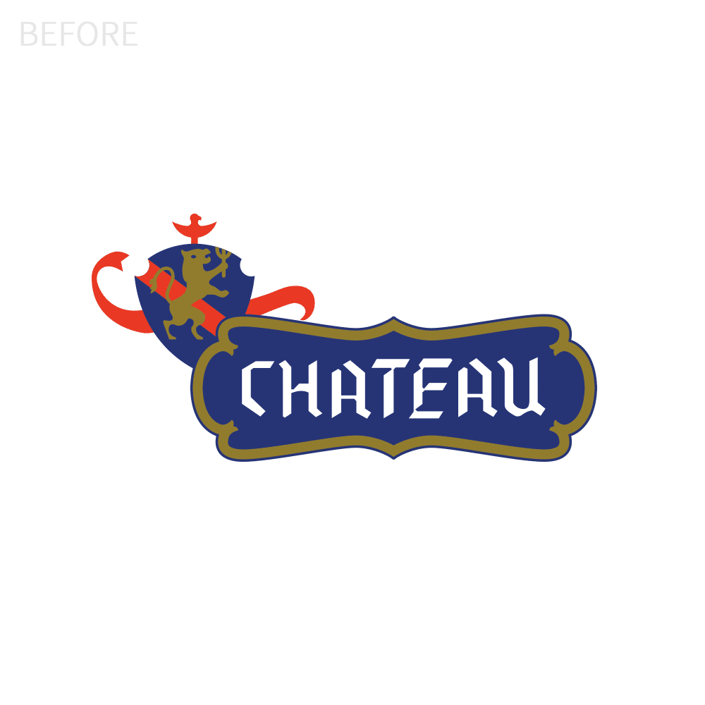 Chateau Logo Before