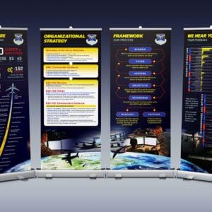 618th AOC banner designs
