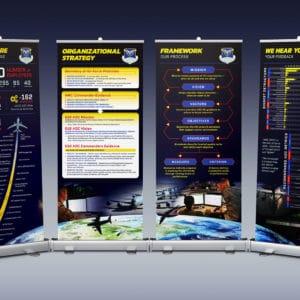 618th AOC banner designs