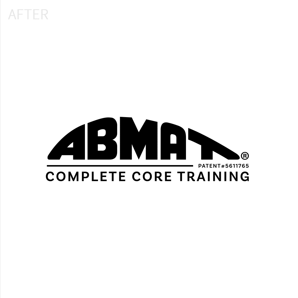 Abmat logo design after