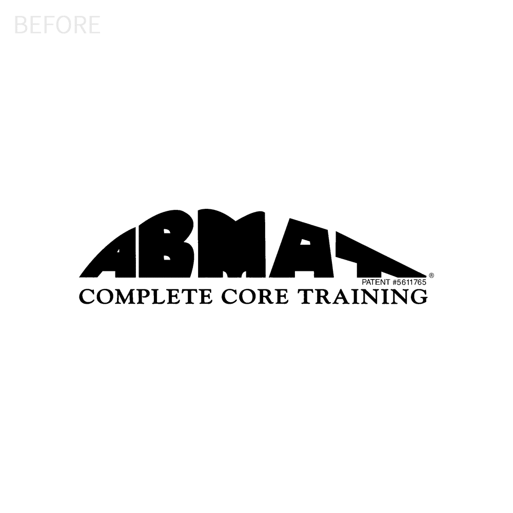 Abmat logo design before