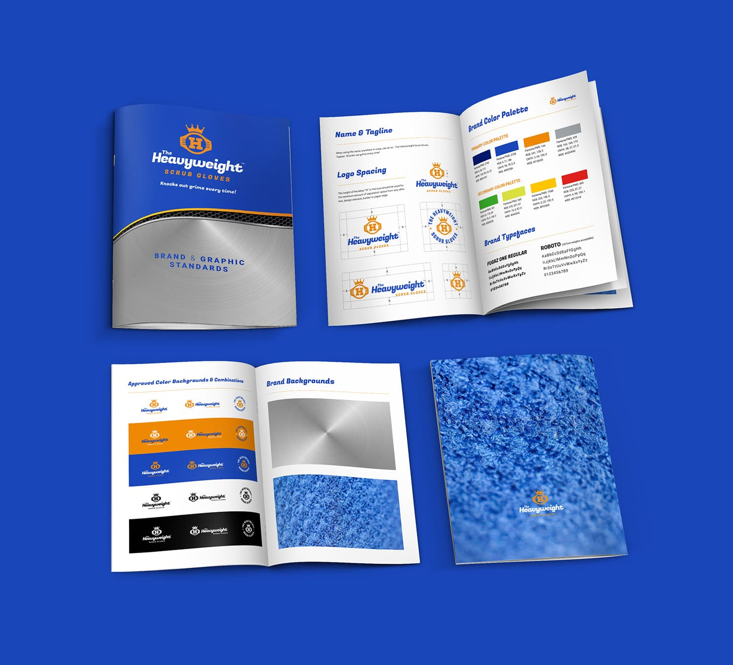 HWSG brand guideline book