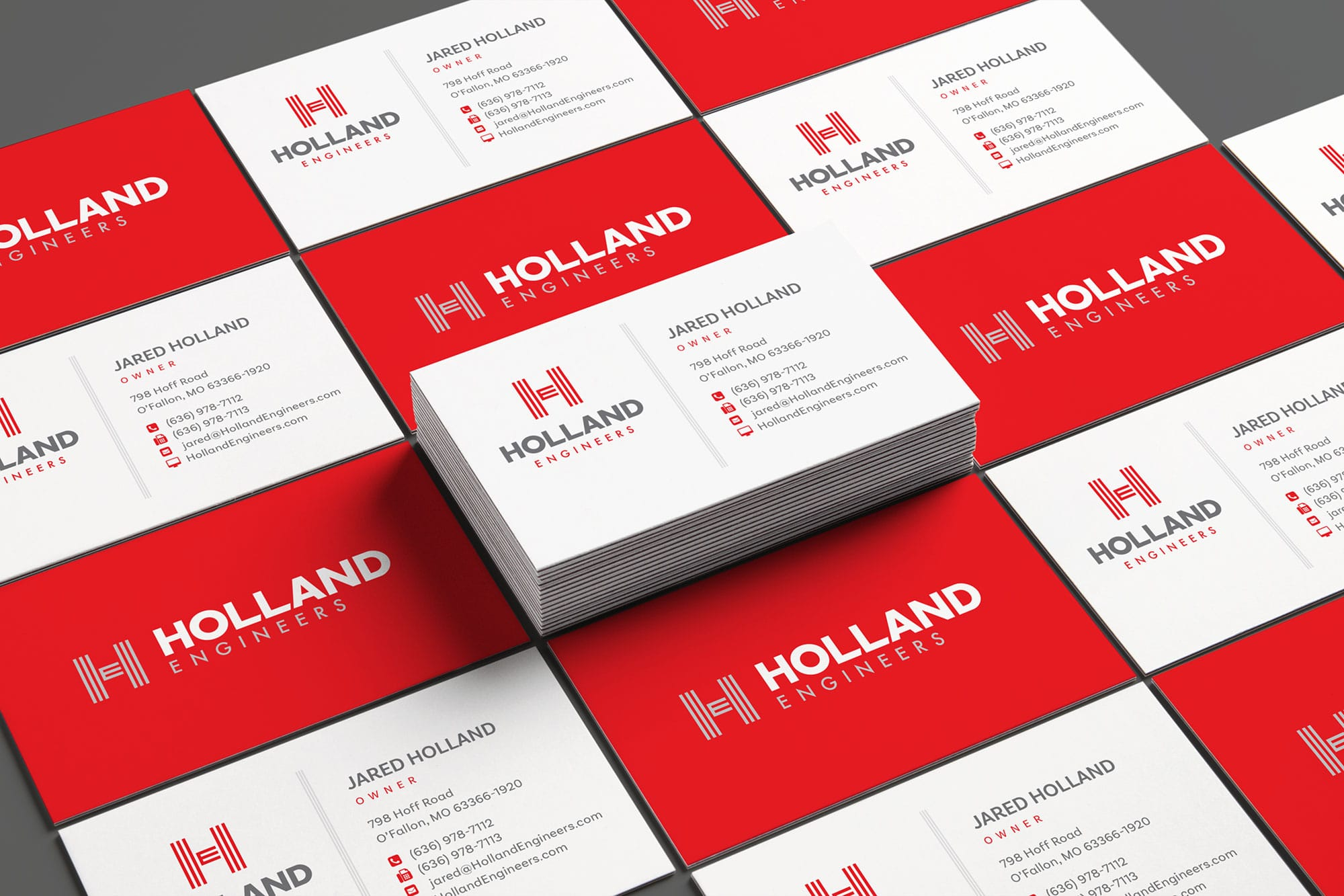 Holland Engineers business cards