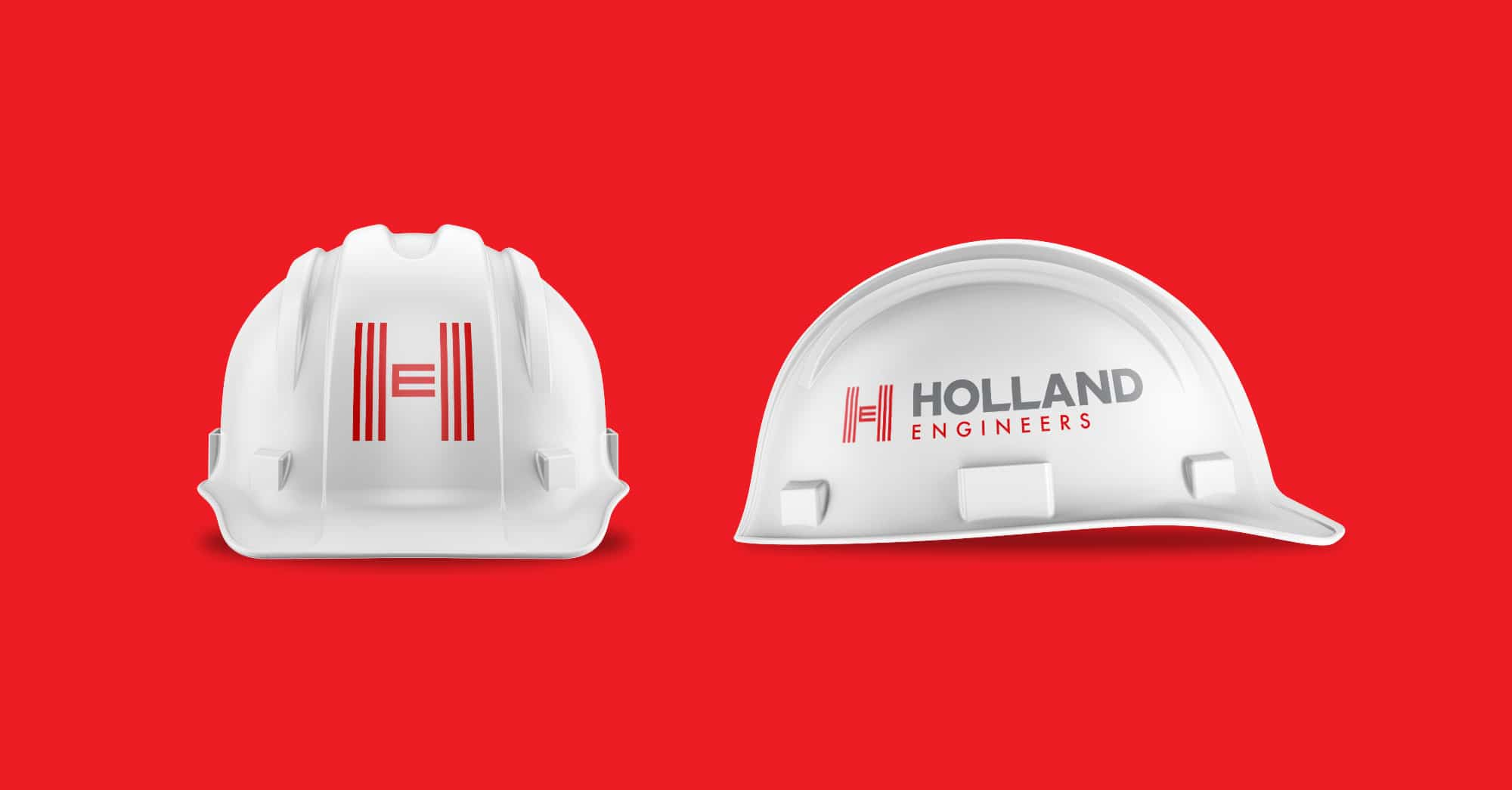 Holland Engineers hard hat design