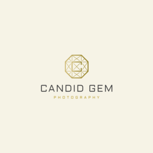 Candid Gem Photography Logo option