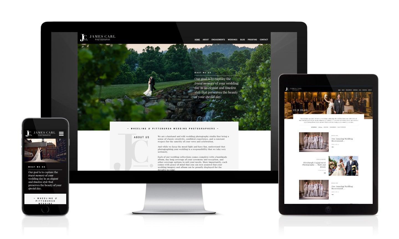 James Carl Photography Website