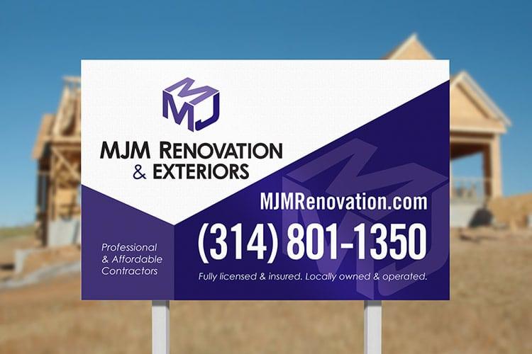MJM Renovation Branding