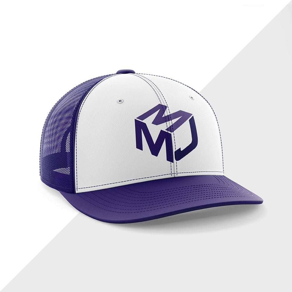 MJM baseball hat design