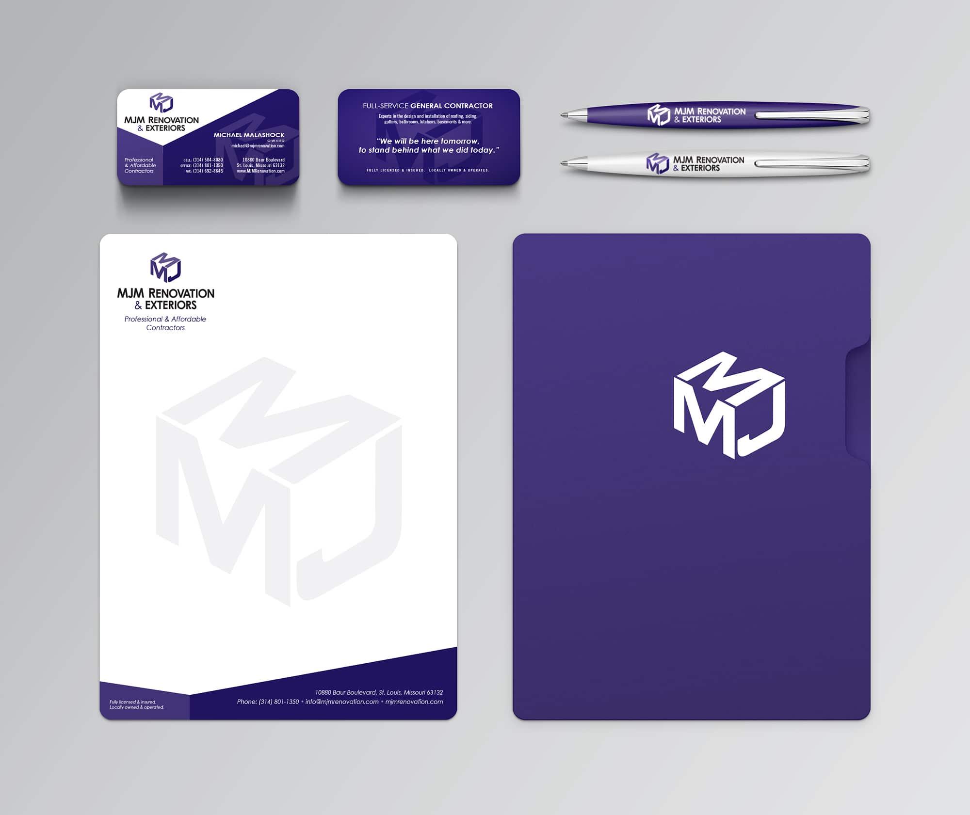 MJM Identity Design