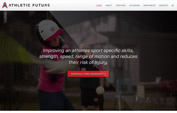 Athletic Future Web Site