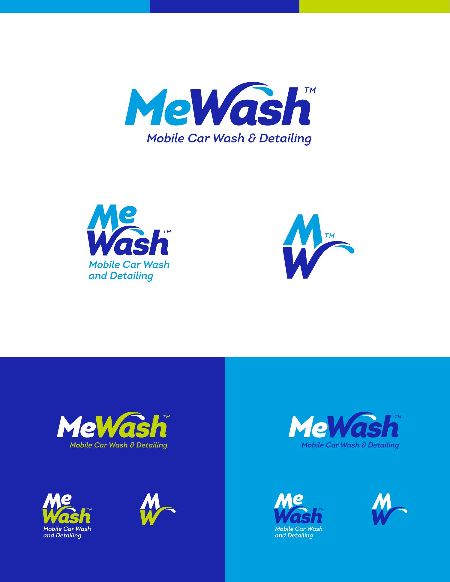 final MeWash logos