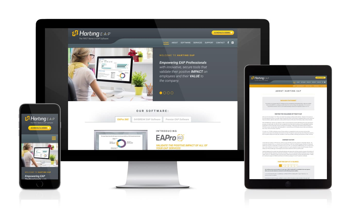 Harting EAP Website