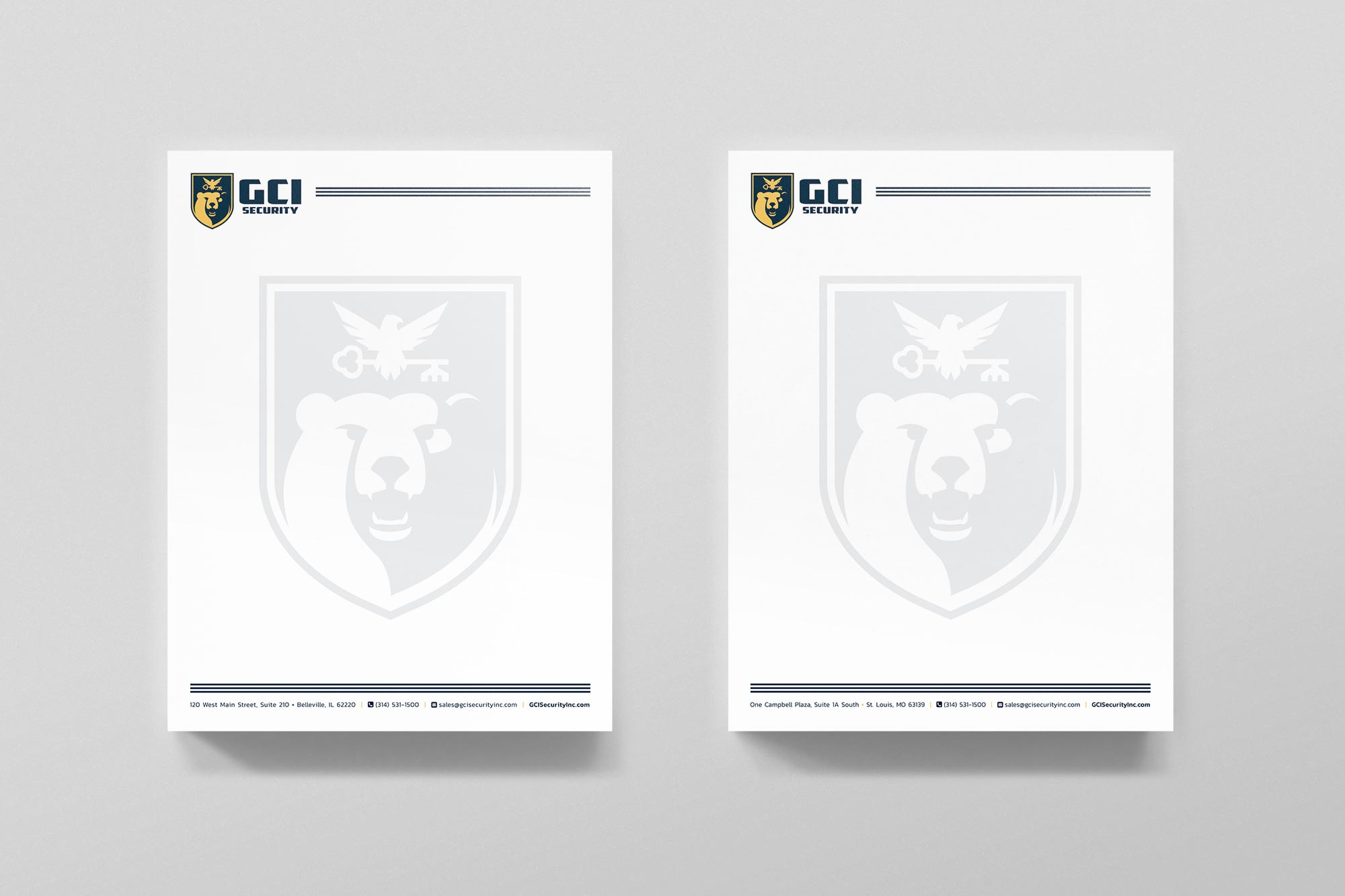 GCI Letterhead Design