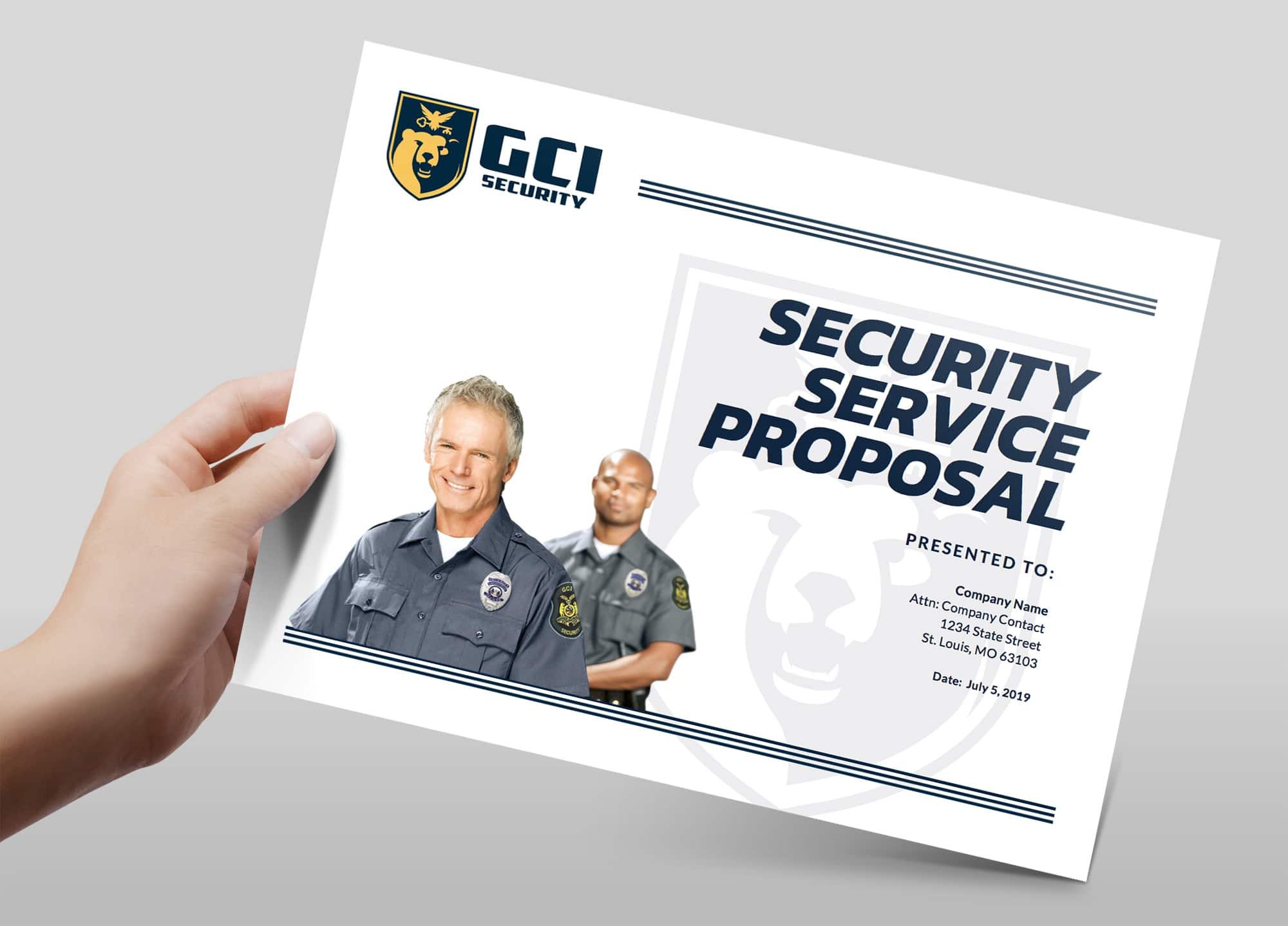 GCI Proposal Design Cover