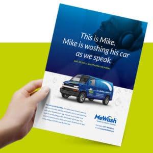 MeWash Ad