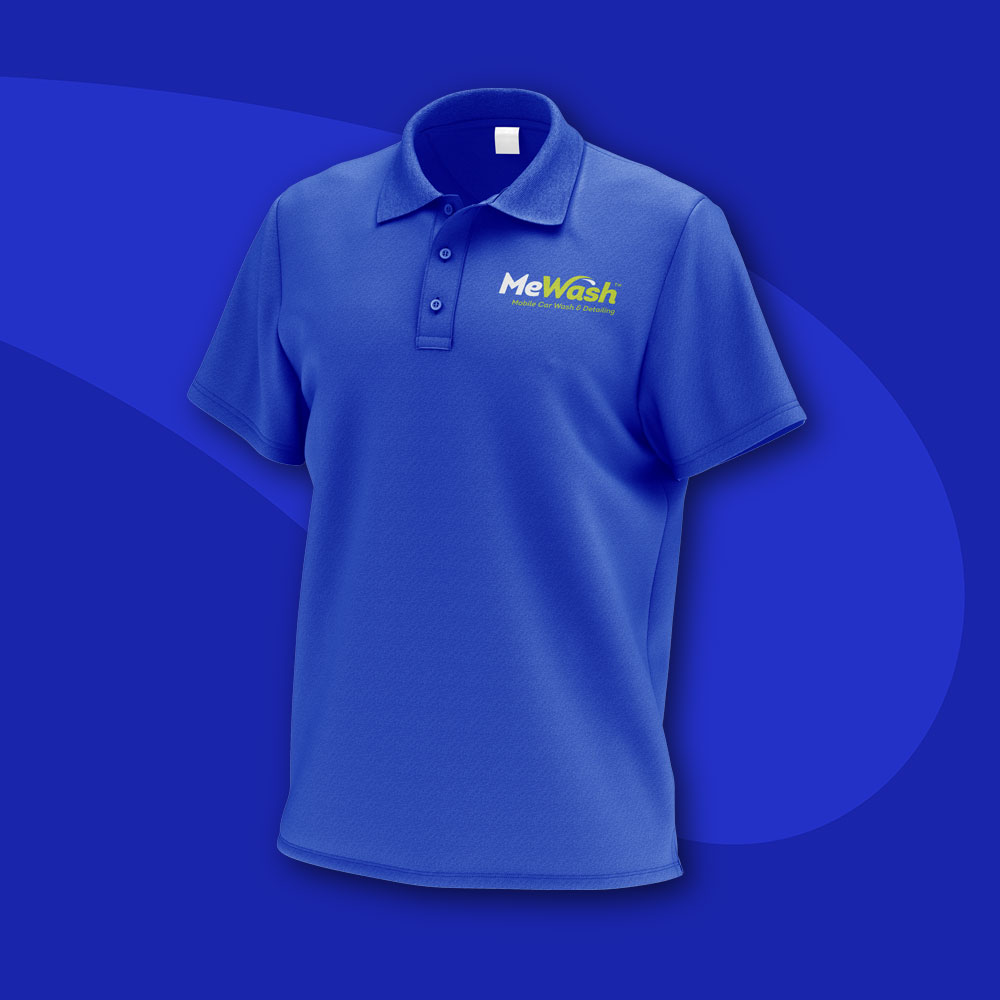 MeWash Polo Shirt design