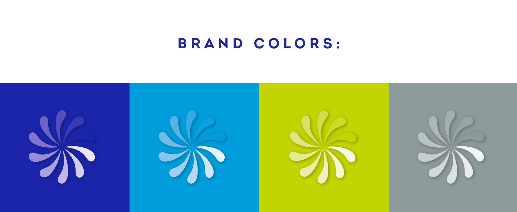 MeWash brand colors