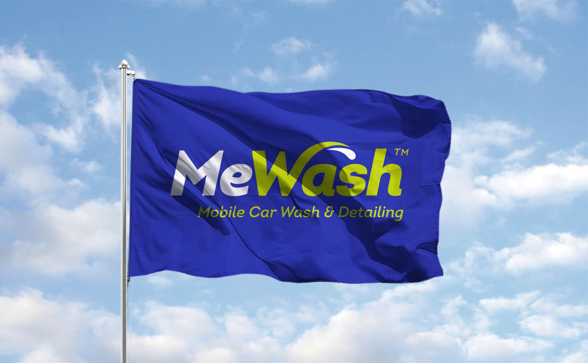 MeWash Flag Design
