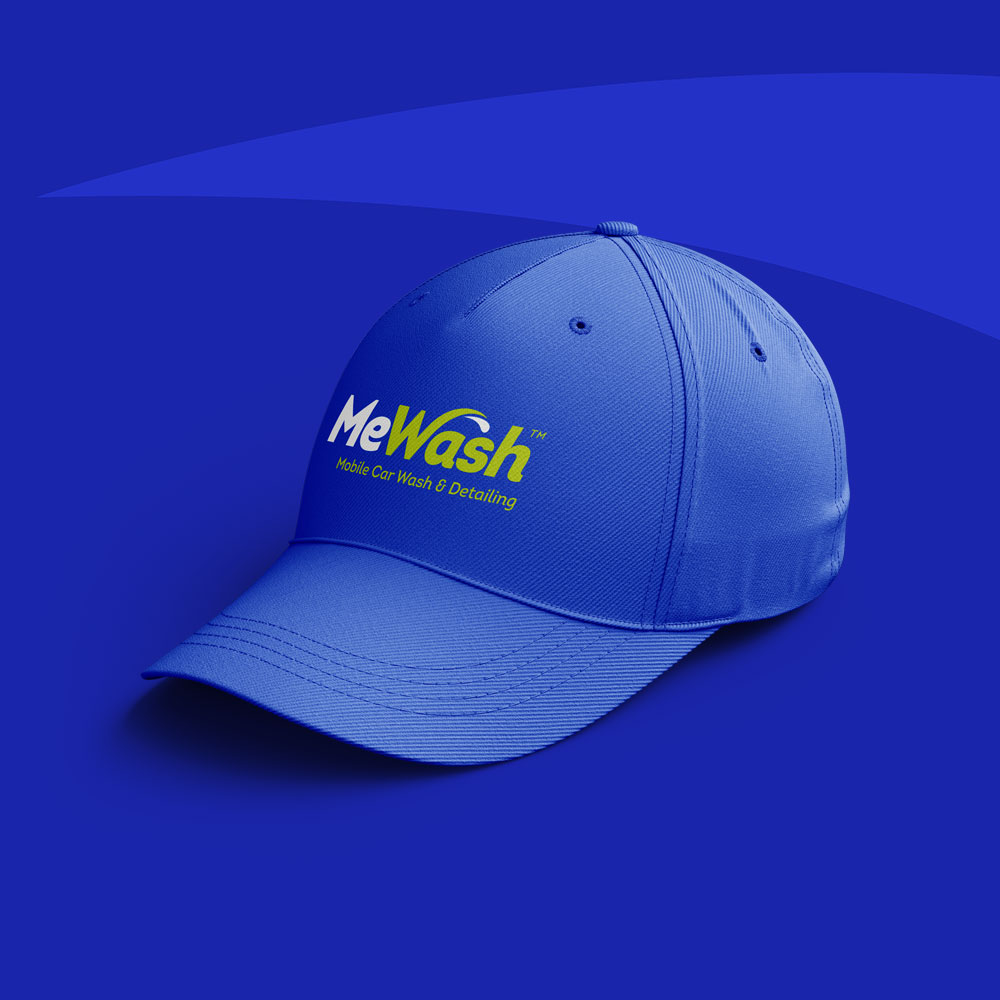 MeWash Baseball Hat design