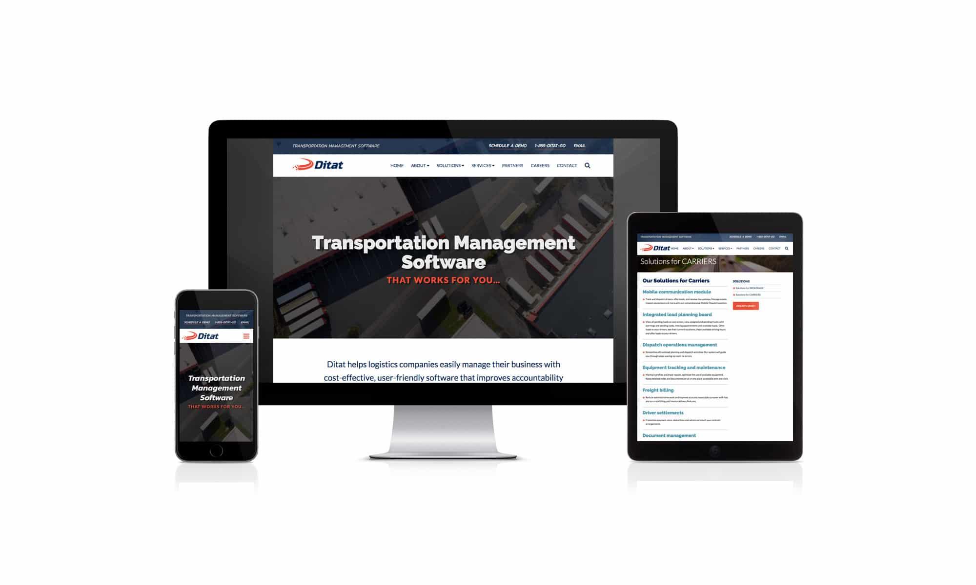 Ditat responsive web design