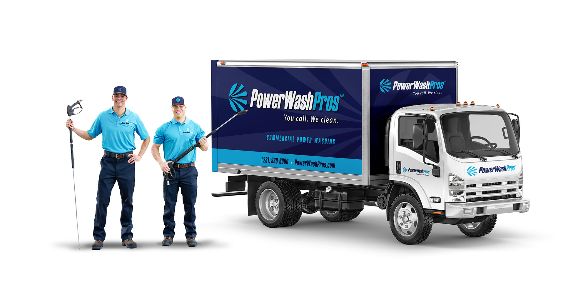 PWP Branding Uniform & Truck Wrap
