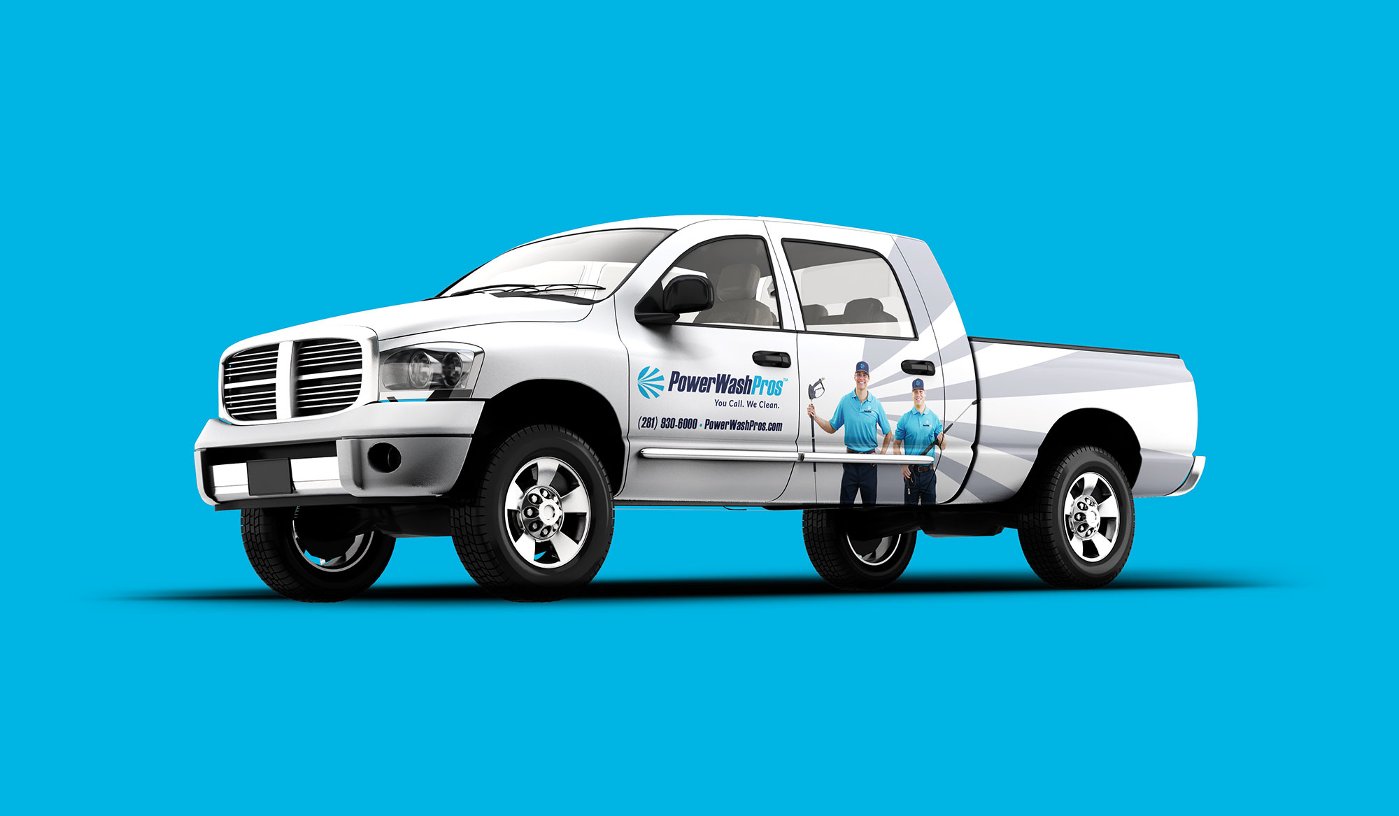PWP vehicle wrap design
