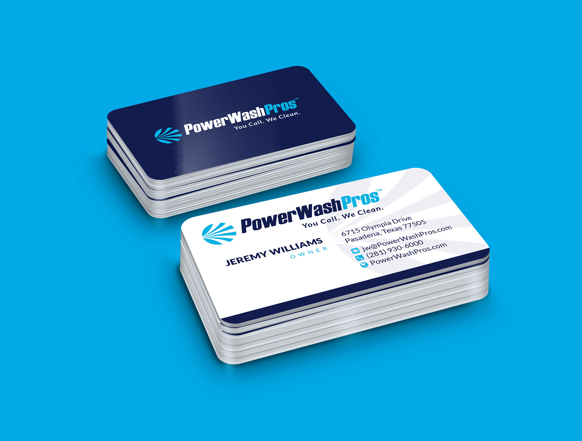 PWP business card design