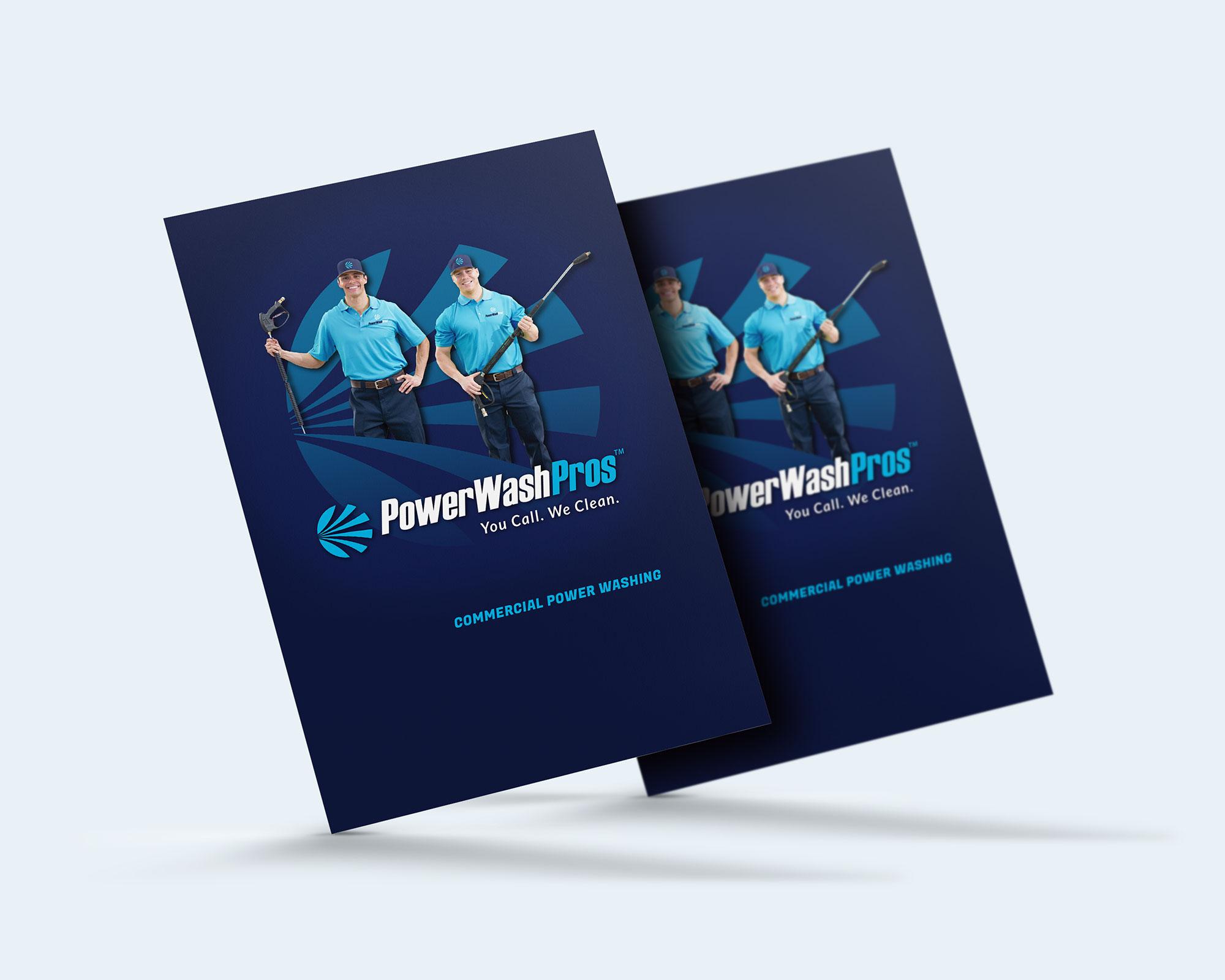 PWP branding folder design