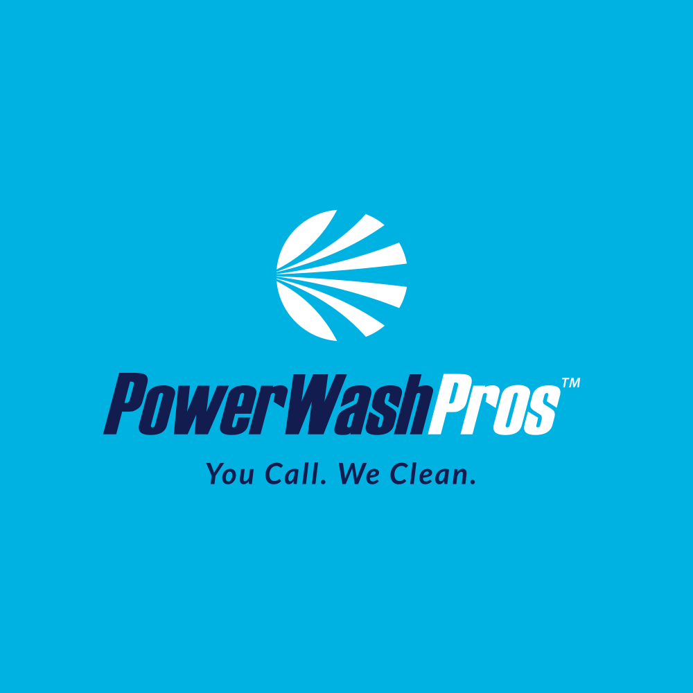 PWP logo design on light blue background