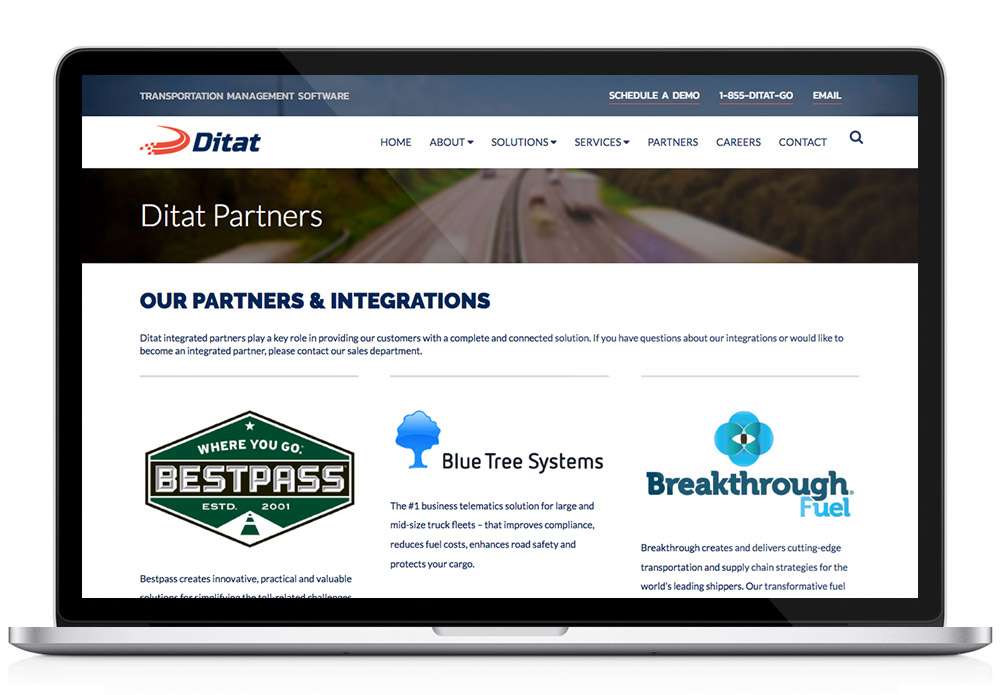 Ditat interior template page