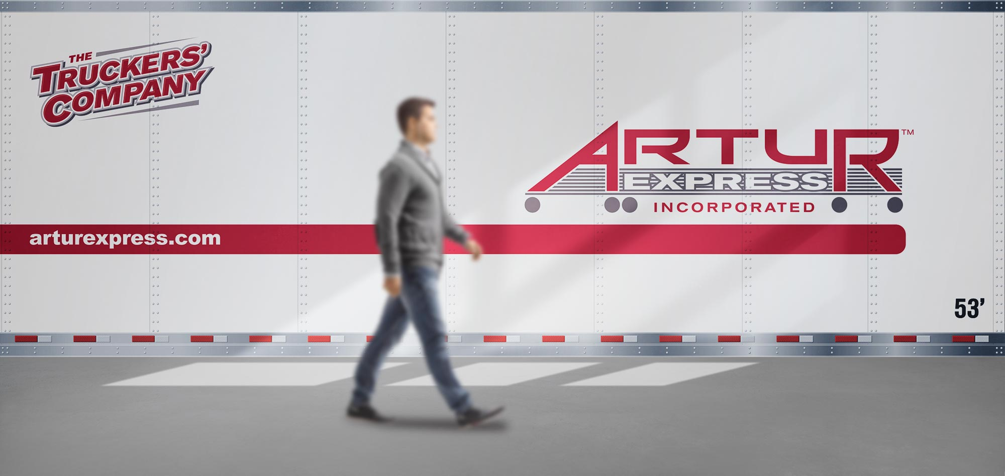 Artur wall graphic decal