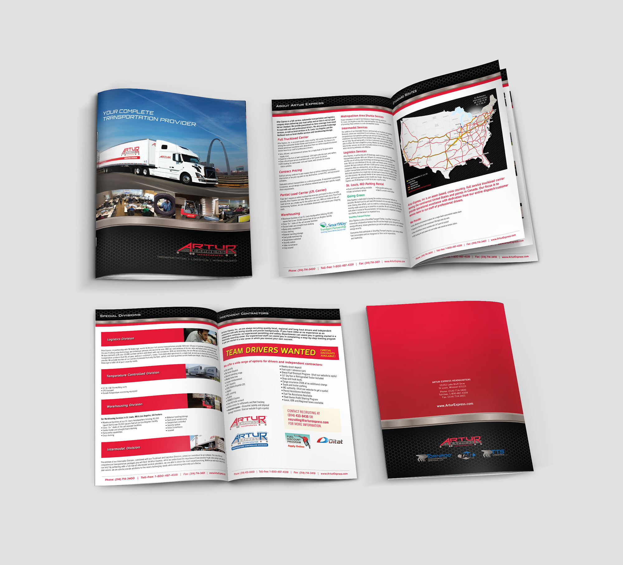Artur brochure design