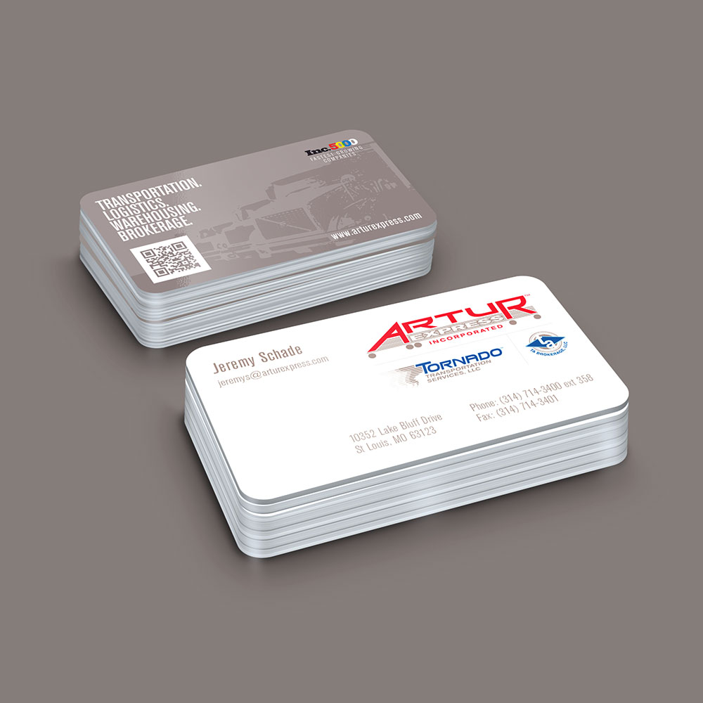 Artur business card design 1