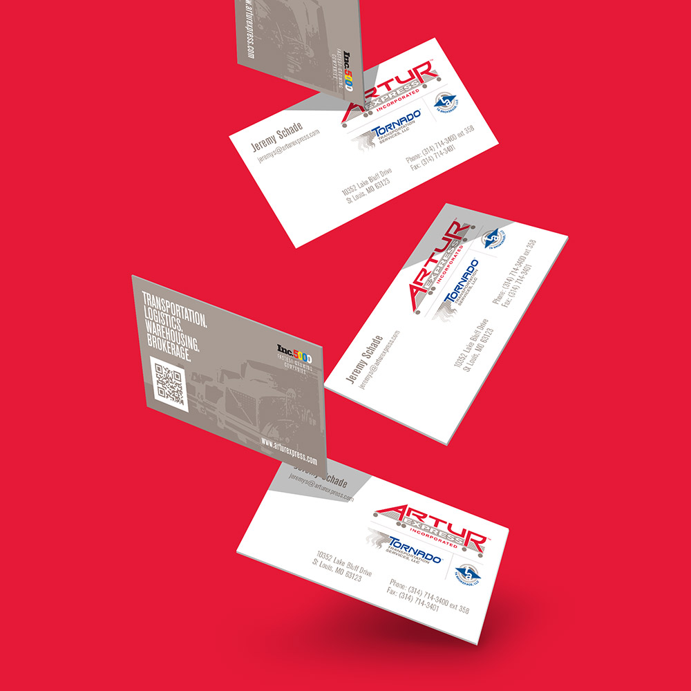 Artur business card design 2