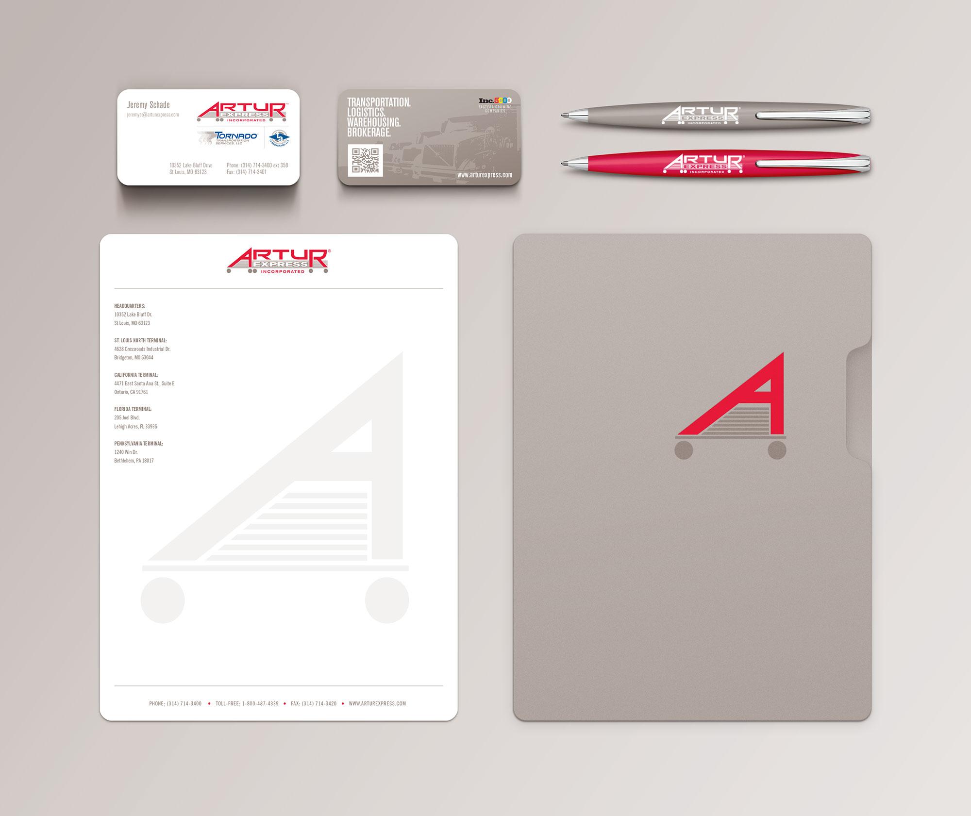Artur identity design
