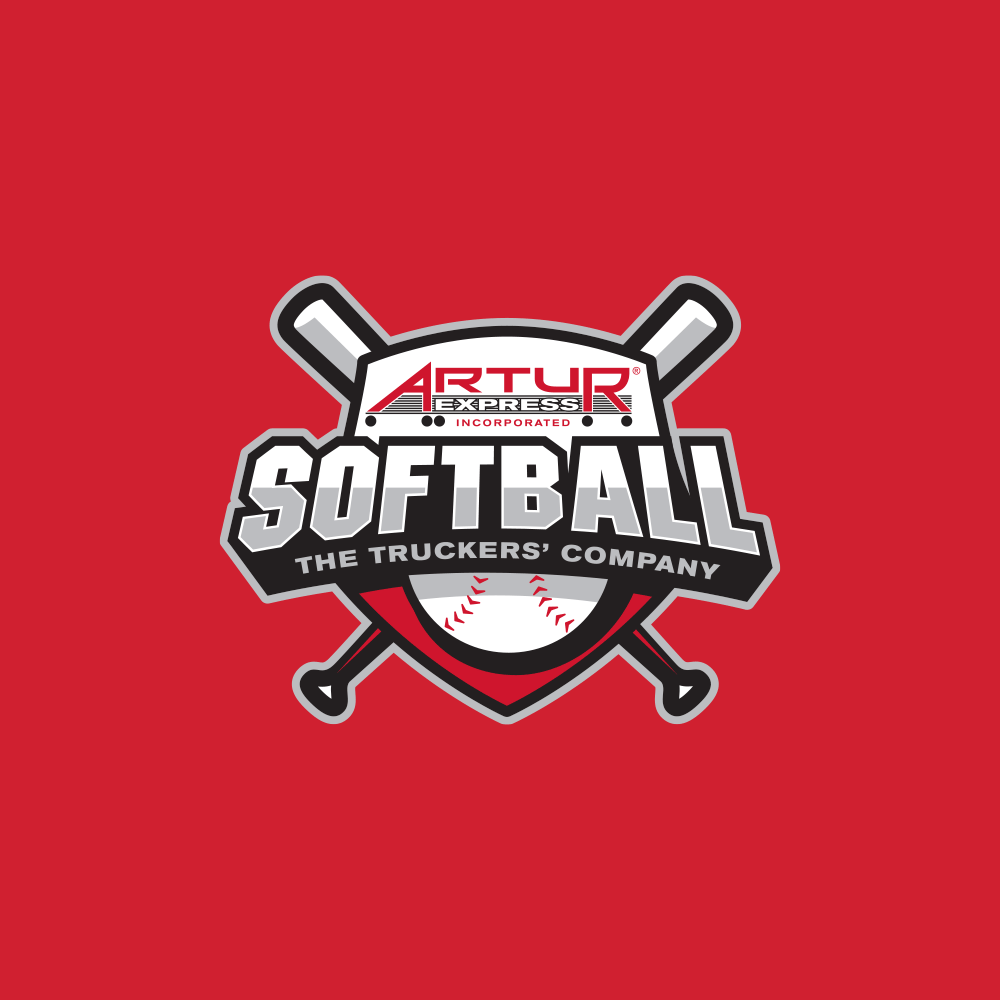 Artur softball logo design