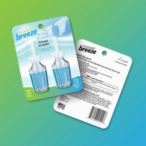 PB Oil Refills package design 1