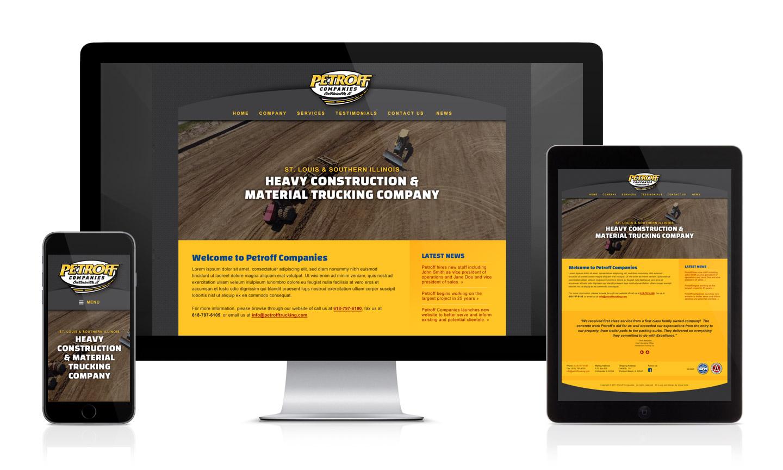 Petroff Companies Website