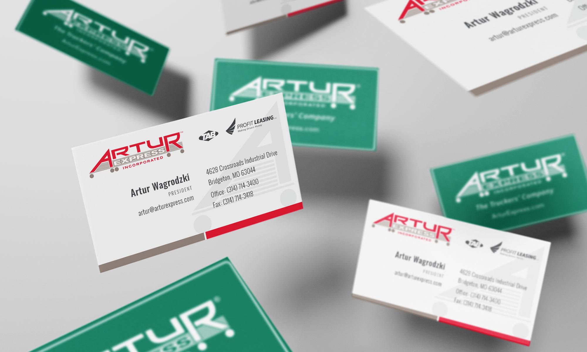 Artur 2020 Business Cards