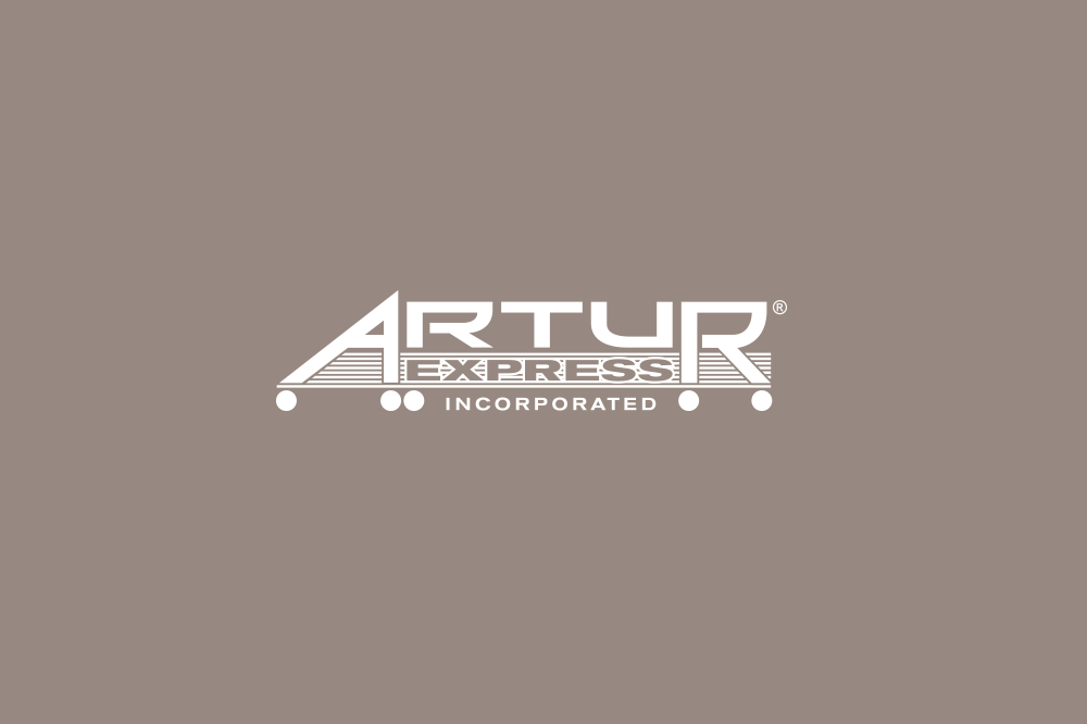 Artur logo on grey background